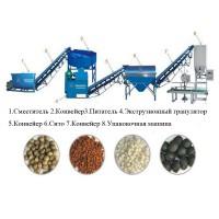 Оборудование переработки и гранулирования навоза помета, пищевых отходов в удобрения