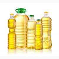 Масло подсолнечное свой завод РДВ 1и 5 литровые бутылки гост высший сорт